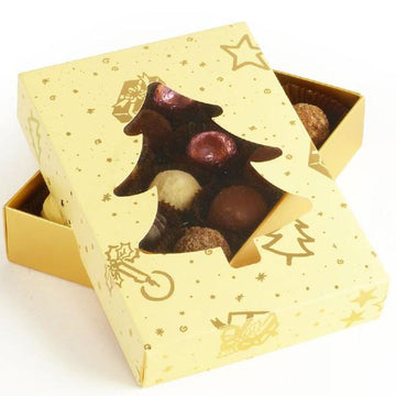 Whitakers Christmas Tree Chocolate Gift Box (12 Truffles)