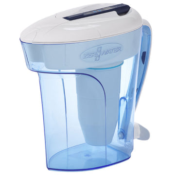 ZeroWater 12-Cup 2.8L Water Filter Jug - Blue ZD-012RP