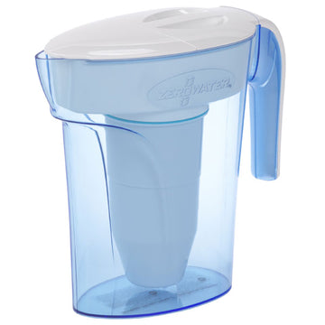 ZeroWater 7-Cup 1.7L Water Filter Jug  - White & Blue ZP-007RP