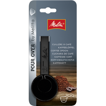 Melitta Measuring Coffee Spoon Plastic (Black)