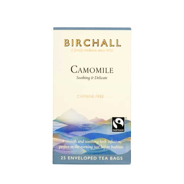 Birchall Tea in Enveloped Bags 25pcs - Camomile