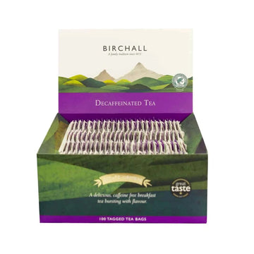 Birchall Tagged Tea Bags 100pcs - Decaffeinated