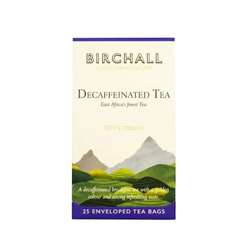 Birchall  Tea in Enveloped Bags 25pcs - Decaffeinated