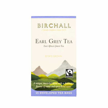 Birchall  Tea in Enveloped Bags 25pcs - Earl Grey