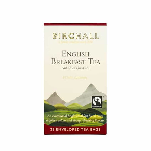 Birchall  Tea in Enveloped Bags 25pcs - English Breakfast
