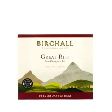 Birchall Tea Everyday Tea Bags 80pcs - Great Rift Breakfast Blend