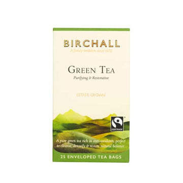 Birchall  Tea in Enveloped Bags 25pcs - Green Tea