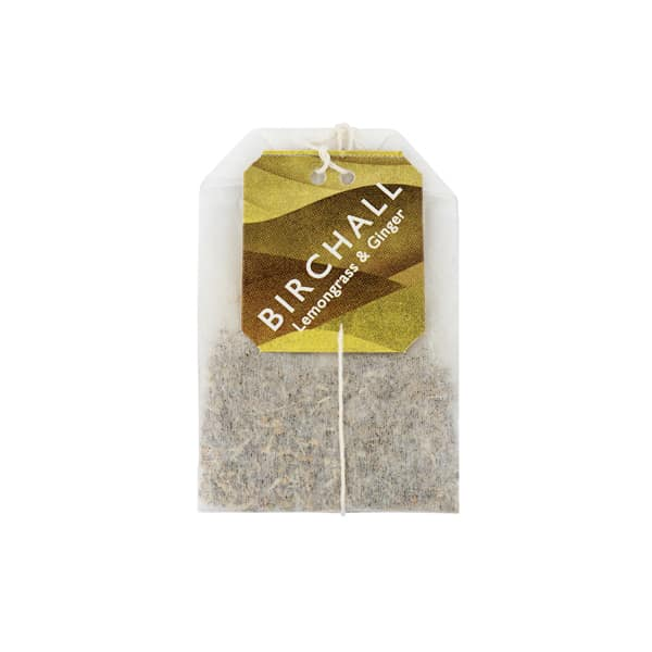Birchall Tea in Enveloped Bags 25pcs - Lemongrass & Ginger