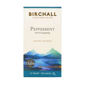 Birchall Tea in Prism Bags 15pcs - Peppermint