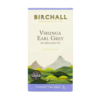 Birchall Tea in Prism Bags 15pcs - Virunga Earl Grey (RFA Certified)