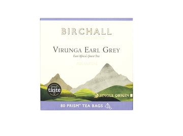 Birchall Tea in Prism Bags 80pcs - Virunga Earl Grey (RFA Certified)