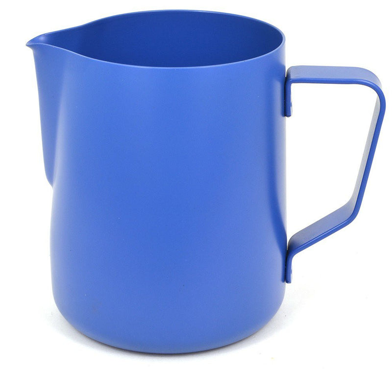 Redber Coffee Rhinowares Blue Stealth Milk Pitcher 12oz/340ml