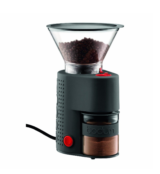 Bodum Electric Burr Coffee Grinder- Black