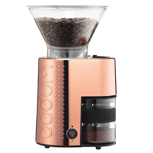 Bodum Electric Burr Coffee Grinder- Copper