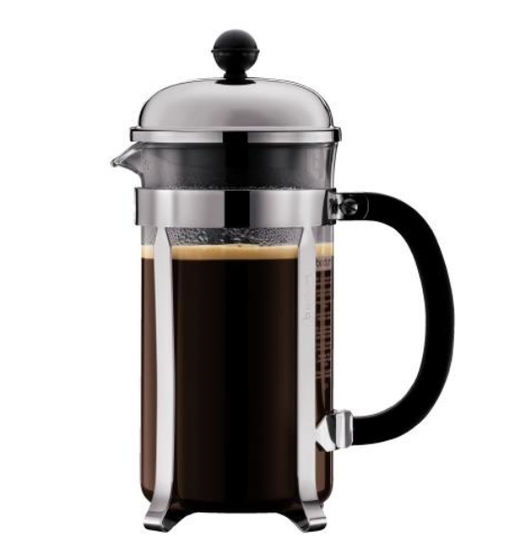 Bodum Chambord 8 cup, 1 L Cafetiere / French Press - Shiny