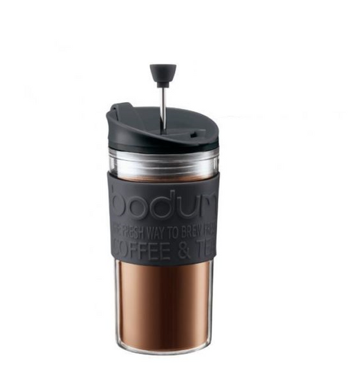 Bodum Travel Mug Cafetiere Press 11102-01 - Black