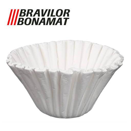 Bravilor Paper Coffee Filter Cups, 250 pcs for Bravilor B10 Coffee Makers - 10 Litre
