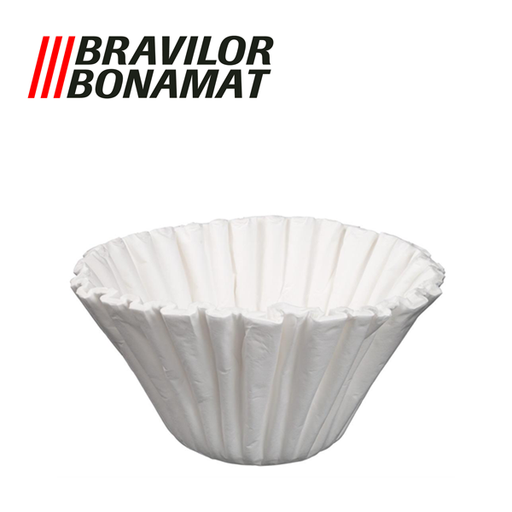 Bravilor Paper Filter Cups, 250 pcs for Bravilor B5 (HW) Filter Coffee Machines - 5 Litre