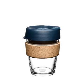 KeepCup Brew Cork Glass Reusable Coffee Cup 12oz - Spruce