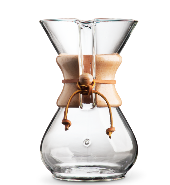 Chemex Pour Over CM-6A 6-Cup Classic Series Glass Coffeemaker
