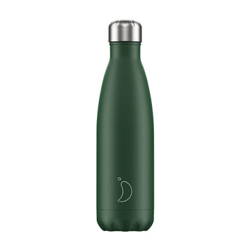 Chilly's Vacuum Insulated Stainless Steel 500ml Drinking Bottle - Matte Green