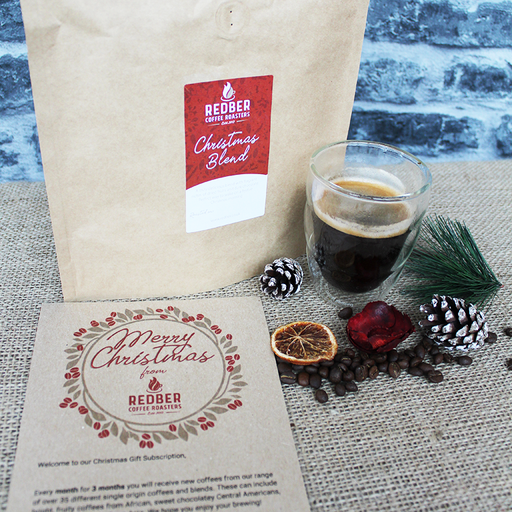 CHRISTMAS GIFT COFFEE SUBSCRIPTION - SURPRISE ME  - 3 months (monthly)