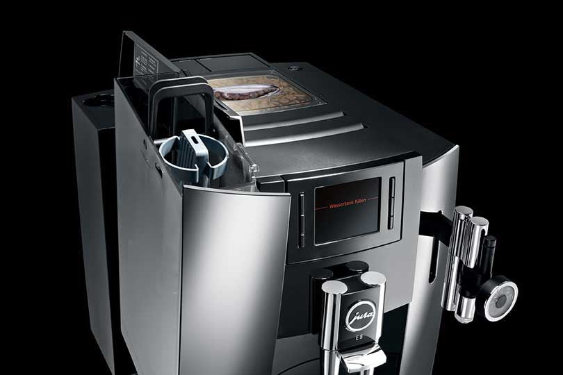 Jura E8 Chrome Bean to Cup Coffee Machine