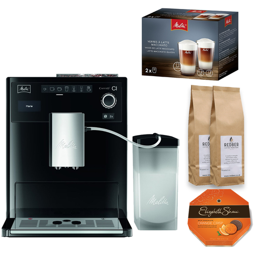 Melitta Caffeo CI (Black) with FREE Gifts!