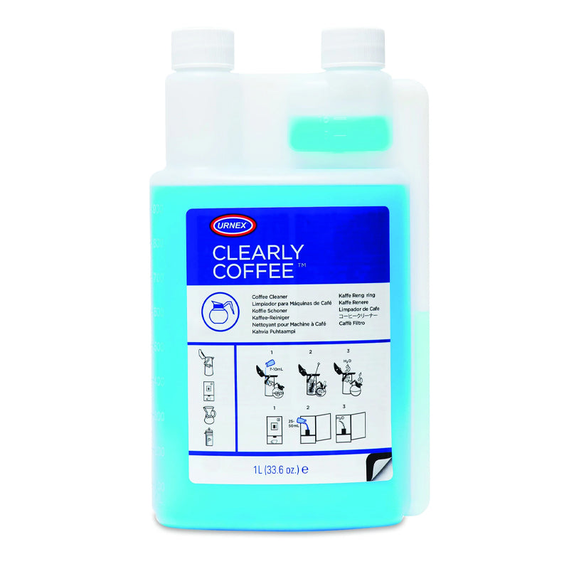 Urnex Clearly Coffee Coffee Pot Cleaning Liquid 1L