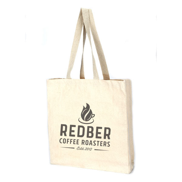 Redber Logo Cotton Tote Bag