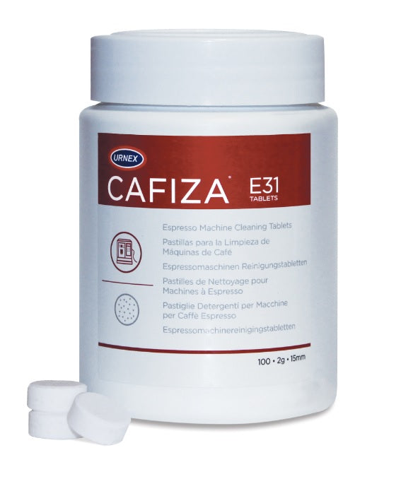 Urnex Cafiza E31 Espresso Machine Cleaning Tablets 2g (200 Tablets)