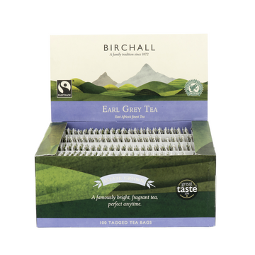Birchall Tagged Tea Bags 100pcs - Earl Grey