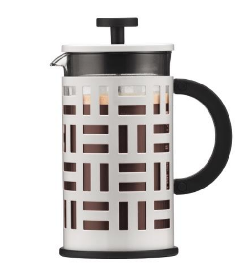 Bodum Eileen 8 cup, 1 L Cafetiere - Off White