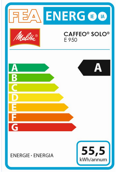 Melitta Caffeo Solo (Pure Black) Bean to Cup Coffee Machine