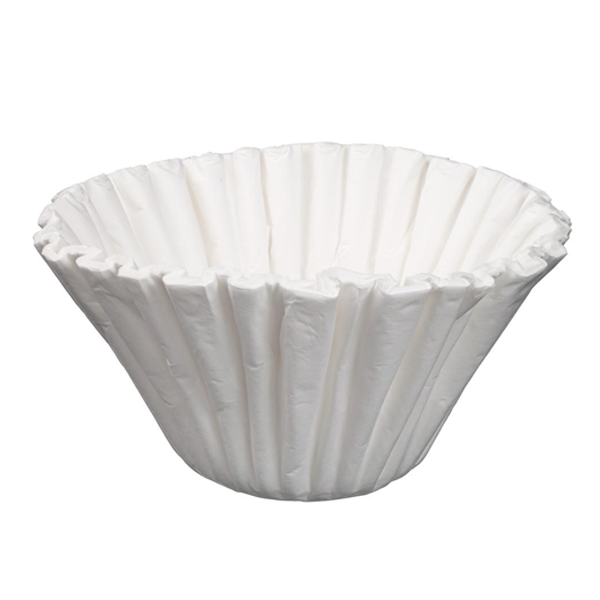 Generic 10-13 Litre Paper Coffee Filter Cups, 250 pcs,  B10