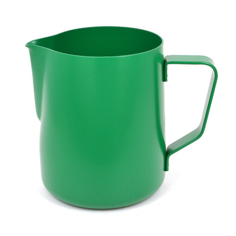 Redber Coffee Rhinowares Green Stealth Milk Pitcher 12oz/340ml