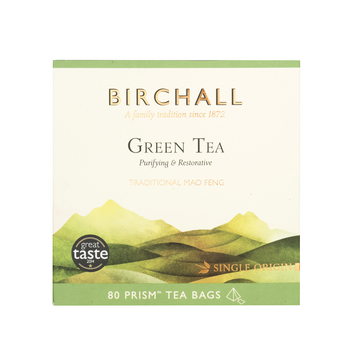 Birchall Tea in Prism Bags 80pcs - Green Tea