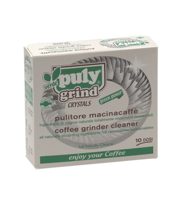 Puly Grind Crystals - Coffee Grinder Cleaner 10 sachets