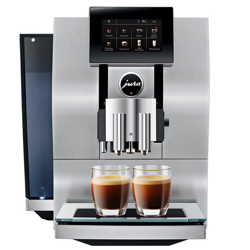Jura Z8 Bean to Cup Coffee Machine - Aluminium
