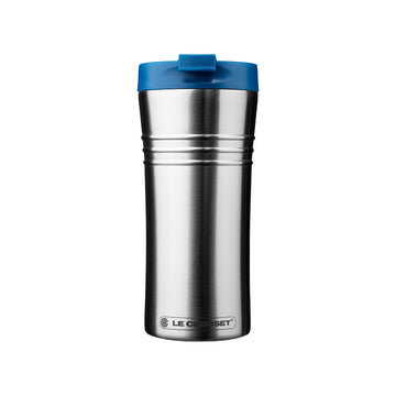 Le Creuset Stainless Steel Travel Mug - Marseille Blue