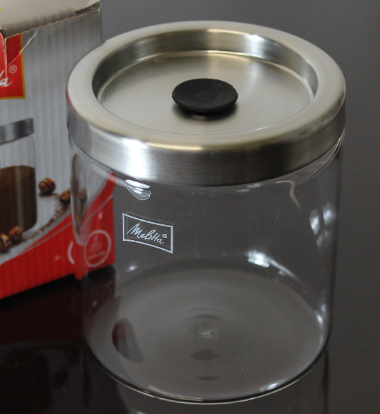 Melitta storage jar