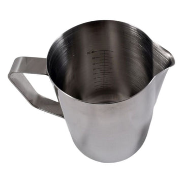 Classic Lined Milk Frothing Jug Straight Sides  (1.5 l / 48 0z.)