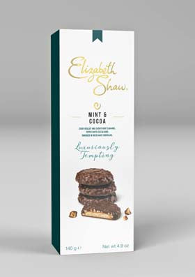 Elizabeth Shaw Mint & Cocoa Biscuits 140g