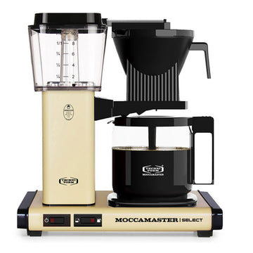Moccamaster KBG Select Filter Coffee Machine 53808 - Pastel Yellow