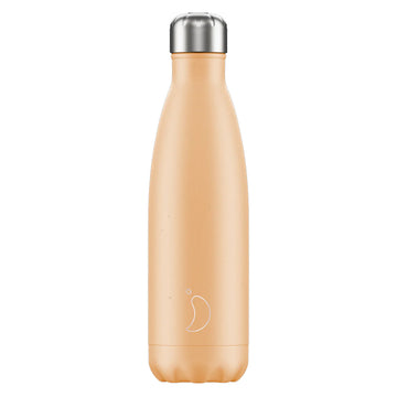 Chilly's Vacuum Insulated Stainless Steel 500ml Drinking Bottle - Pastel Orange