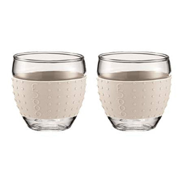 Bodum Pavina 2 pcs, 0.1L Off White
