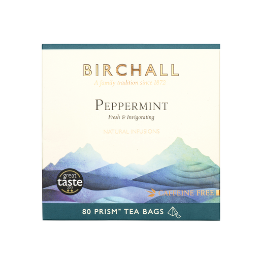Birchall Tea in Prism Bags 80pcs - Peppermint
