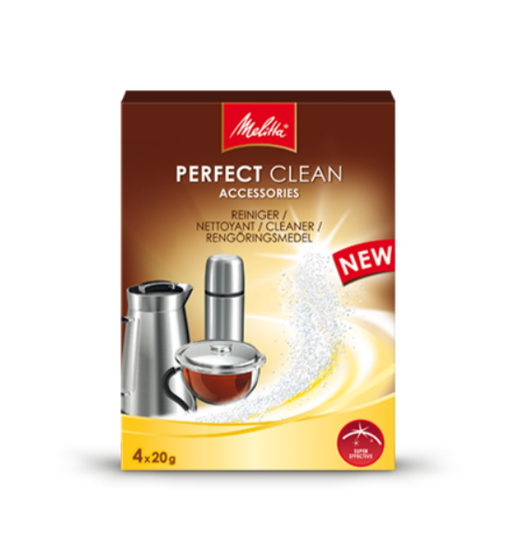 Melitta PERFECT CLEAN Accessories Cleaner 4 x 20g