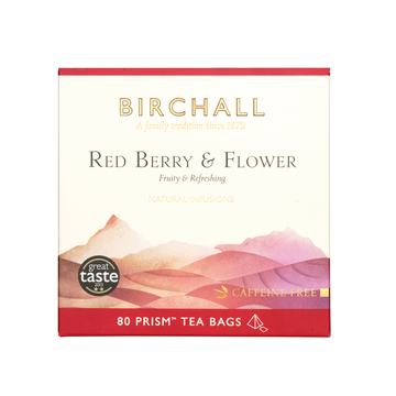 Birchall Tea in Prism Bags 80pcs - Red Berry & Flower