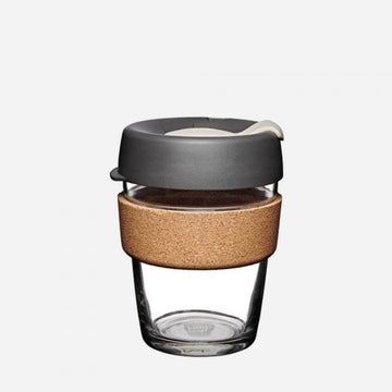 KeepCup Brew Cork Glass Reusable Coffee Cup 12oz - Press